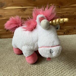 "14"" Build A Bear BABW Plush Despicable Me 3 Fluffy The Unicorn Stuffed Animal"