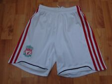 CLASSIC LIVERPOOL 2009-2010 9-10 YEARS AWAY 3RD FOOTBALL SHORTS