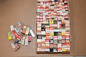 HUGE LOT 160 BOXED VACUUM TUBES  - APPROXIMATELY