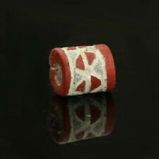Ancient Roman glass beads: Roman mosaic glass bead, 1 century BC- 2nd century AD