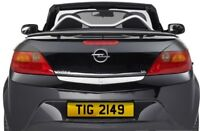 TIG 2149 Tigra Tiger Vauxall tigger Personalised Registration Number Plate