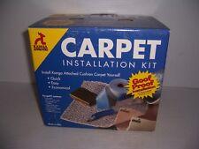 Kanga Carpet Installation Kit Goof Proof Installation for 12' x 12' Room New!