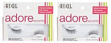 2 x ARDELL Adore 'Piper' Lashes - Black False Lashes - Adhesive Included