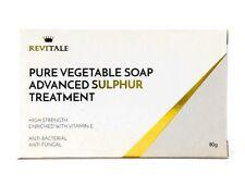 Jabón puro avance de azufre vegetal Revitale tratamiento 80g