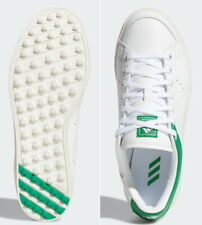 Adidas Women's Golf Shoes Adicross Classic D97784 Spikeless PU EMS White+Green