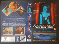 Desire & Hell At Sunset Motel - Promo Sample Video Sleeve/Cover #B2838