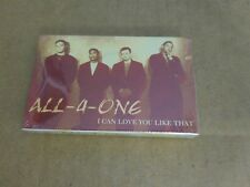 ALL 4 ONE I CAN LOVE YOU LIKE THAT FACTORY SEALED CASSETTE SINGLE