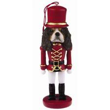 Cavalier King Charles Spaniel Tri Dog Toy Soldier Nutcracker Christmas Ornament