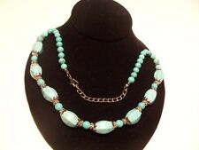 New,Beautiful WomensTurquoise Necklace 22 inches long