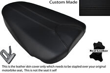 BLACK STITCH CUSTOM FITS APRILIA TUONO 125 REAR PILLION SEAT COVER
