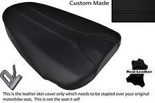 BLACK STITCH CUSTOM FITS APRILIA TUONO 125 REAR PILLION SEAT COVER