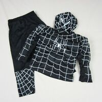 Halloween Party Boys Girls Muscle Red Spiderman Fancy Dress Outfit Costume 2-7y