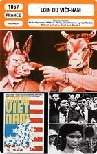 FICHE CINEMA : LOIN DU VIET-NAM Bellec,Blanguernon,Resnais 1967 Far From Vietnam