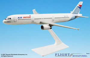 Flight Miniatures Air Inter France Airbus A321-200 1:200 Scale New in Box