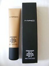 MAC Studio Sculpt Foundation SPF 15 NC45 100% Authentic Brand New In Box