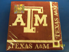 Texas A&M Aggies NCAA College Football SEC Sports Party Paper Beverage Napkins