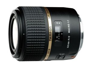 USED Tamron SP 60mm F2.0 Di-II LD AF IF G005 Macro / Portrait Lens For Nikon EMS