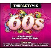 VARIOUS - THE PARTY MIX 60s           3 x CD Album Set       (2013)