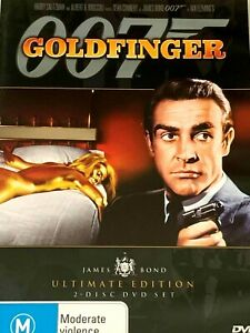 007 : James Bond Goldfinger : 2 Disc : Ultimate Edition : Sean Connery : NEW DVD