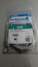 StarTech.com 6 ft Beige A to B USB 2.0 Cable