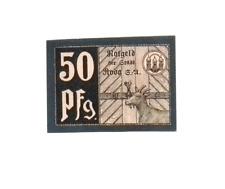 1920 Germany  RODA 50  Pnennig  Notgeld / Banknote