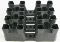 Fits LS GM Lifter Guide Trays - Set of 4 LS1 LS7 Roller Lifters Retainer Buckets