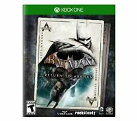 Batman: Return to Arkham (Microsoft Xbox One, 2016)