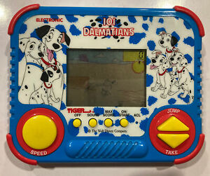 Vintage 1990 101 Dalmatians Handheld game by Tiger Electronics Walt Disney