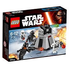 Lego Star Wars FIRST ORDER BATTLE PACK 75132 Brand New & Sealed