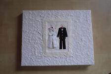 Bride & Groom  Mulberry (SAA) Paper Wedding Guestbook