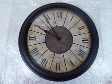 """17 1/2""""  WALL MOUNT ROMAN NUMERAL QUARTZ CLOCK LQQK !"""