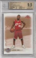 2003-04 Lebron James Fleer Focus Gold RC- BGS 9.5 w/10 sub... Only 50 made