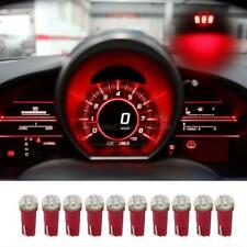 10x Nos T5 74 1206 3 Smd Car Dash Gauge Led Light Bulbs Lamp 12v Red For Chevy Fits 2007 Chevrolet Hhr