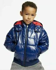 NEW BOYS KIDS NIKE 6.0 PURPLE GREEN ZIP UP HOODED JACKET STRIPED 4 5 MSRP $44