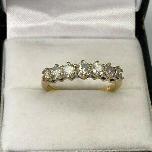 18ct Gold Hallmarked 1ct Diamond Eternity Ring.  Goldmine Jewellers.