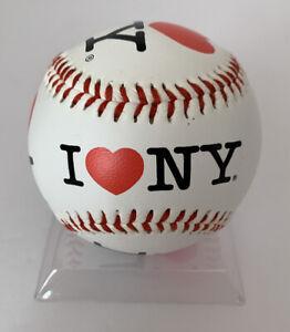 I Love NY Logo Baseball Ball I ❤️ New York NY NYC Official Licensed New