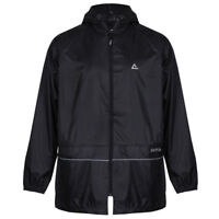 Dare2b Waterproof Over Jacket Outer Wear Rain Wet Breaklight Lightweight Black