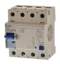 Doepke DFS 4B SK 40/0,3A Fehlerstrom Schutzschalter allstrom sensitiv 09136998