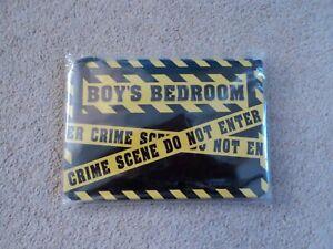 Boys Bedroom Door/Wall Plaque