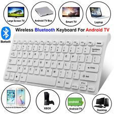 NEW Slim Wireless Bluetooth Keyboard For iPad iMac Android Phone Tablet PCs UK