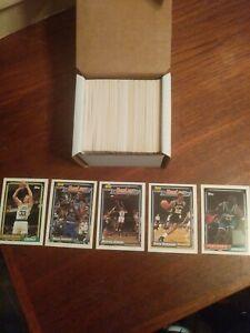 1991-92 Topps Basketball Series 1 Set #1-198