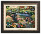 Thomas Kinkade Studios Alice in Wonderland 12 x 16 Canvas Classic (Framed)