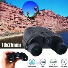 Day/Night 10x25 Military Zoom Powerful HD Binoculars Optics Hunting Camping+Case