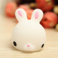 Soft Mochi Bunny Rabbit Squishy Squeeze Healing Stress Reliever Toy Gift Decor