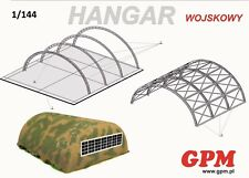 Military Hangar 1:144 scale  Model Kit   (LASERCUT SET)