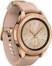 Samsung Galaxy 42mm Stainless Steel Case 200 Rose Gold Band Smartwatch (SM-R815UZDAXAR)
