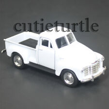 """4.75"""" Welly 1953 Chevy 3100 Pick Up Truck Diecast Toy 43708D White"""