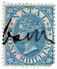 (I.B) Natal Revenue : Duty Stamp 1/- (1870)