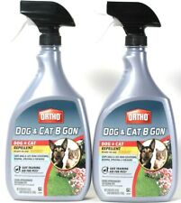 2 Ortho 24 Oz Dog & Cat B Gone Safe People Pets Plants Ready Use Repellent Spray