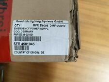 Goodrich D8095 Emergency power supply D734-02-001